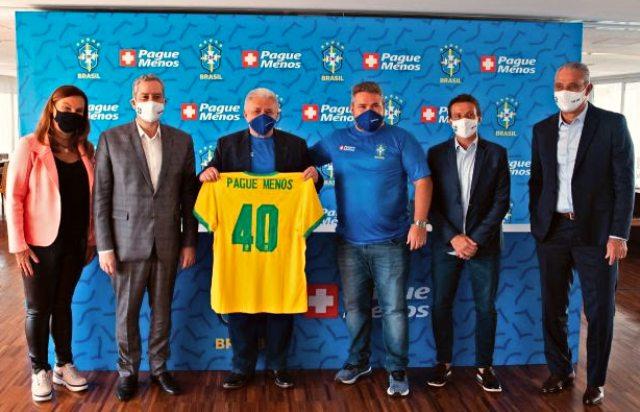 Pague Menos é a nova patrocinadora oficial da Seleção Brasileira de Futebol