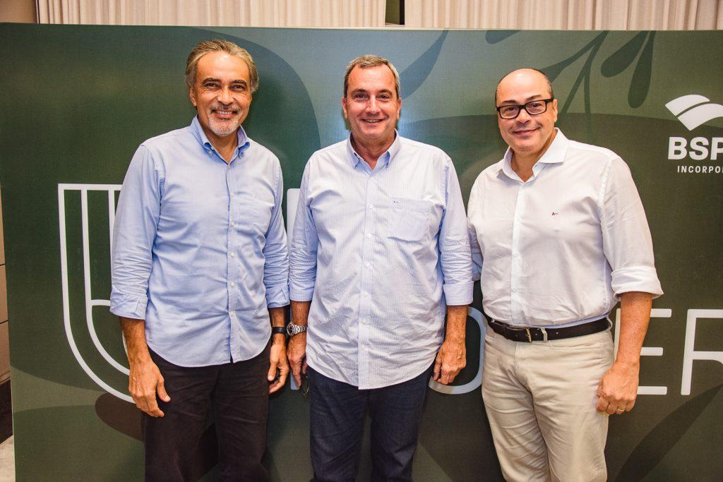 Paulo Angelim, Kalil Otoch E Breno Camara