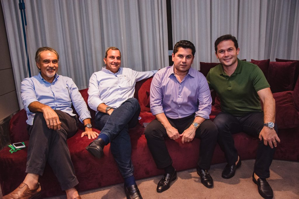 Paulo Angelim, Kalil Otoch, Pompeu Vasconcelos E Fabio Albuquerque