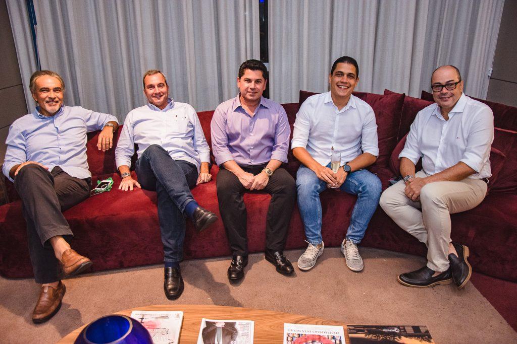 Paulo Angelim, Kalil Otoch, Pompeu Vasconcelos, Tales Rocha E Breno Camara