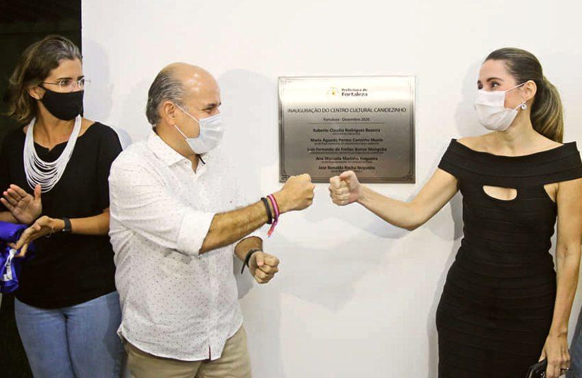 Roberto Cláudio entrega equipamentos de saúde, cultura e lazer em Fortaleza