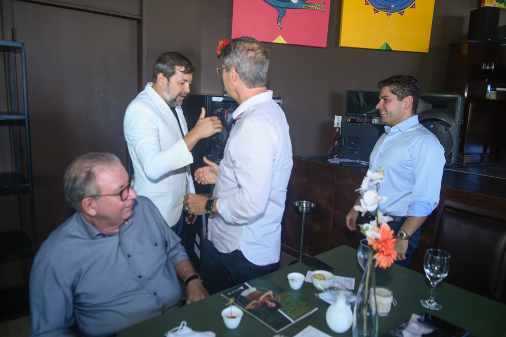 Ricardo Cavalcante, Élcio Batista, Severino Ramalho Neto E Pompeu Vasconcelos