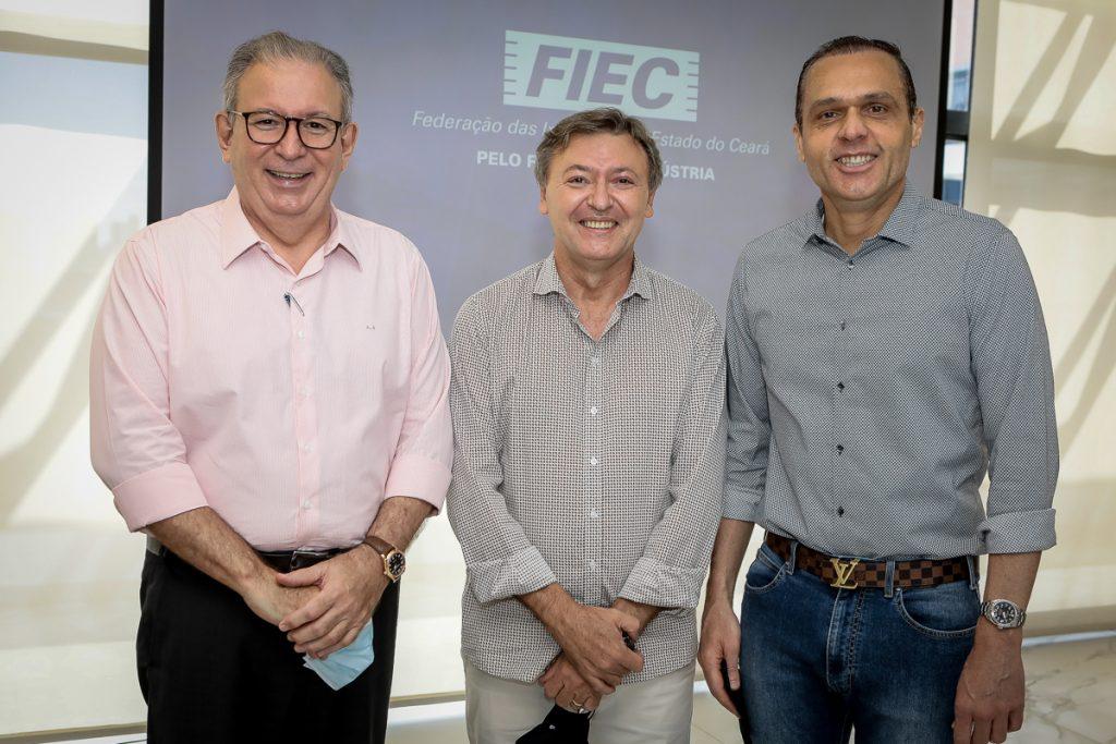 Ricardo Cavalcante, Mauricio Filizola E Eduardo Diogo