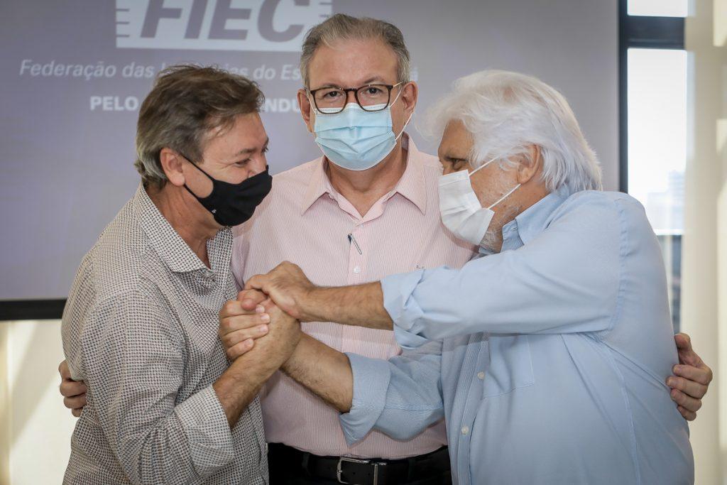 Ricardo Cavalcante, Mauricio Filizola E Joaquim Cartaxo (3)