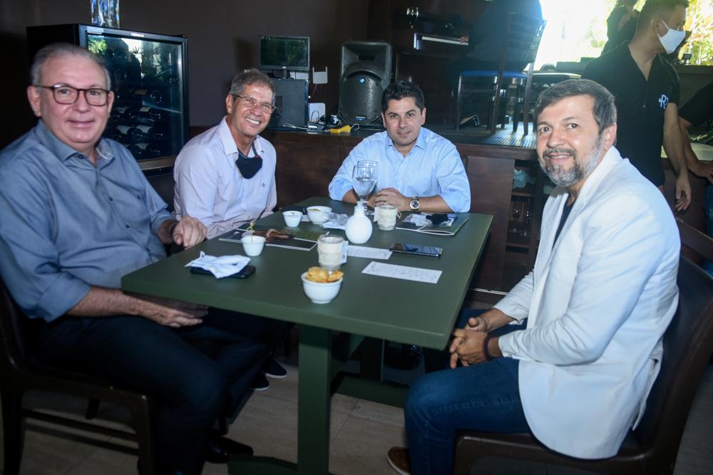 Ricardo Cavalcante, Severino Ramalho Neto, Pompeu Vasconcelos E Élcio Batista (1)