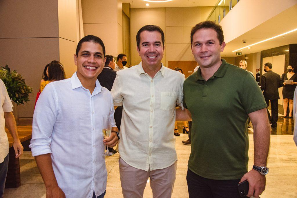 Tales Rocha, Walder Studart E Fabio Albuquerque