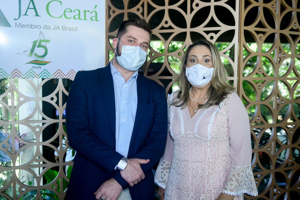 Vitor Pedroza E Ana Lúcia Teixeira