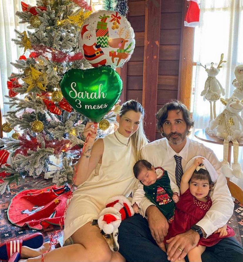 Lucas e Natália Fiuza celebram os 3 meses da pequena Sarah