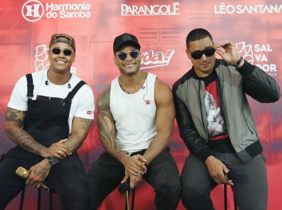 Léo Santana, Xanddy e Tony Salles promovem live de Carnaval. Vem saber!