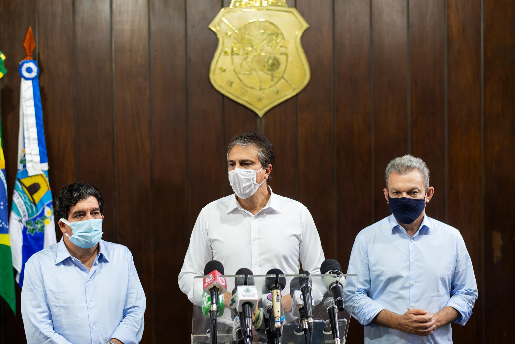 Governo vai ampliar leitos para tratamento da Covid-19 e reforçar fiscalização em todo o Estado