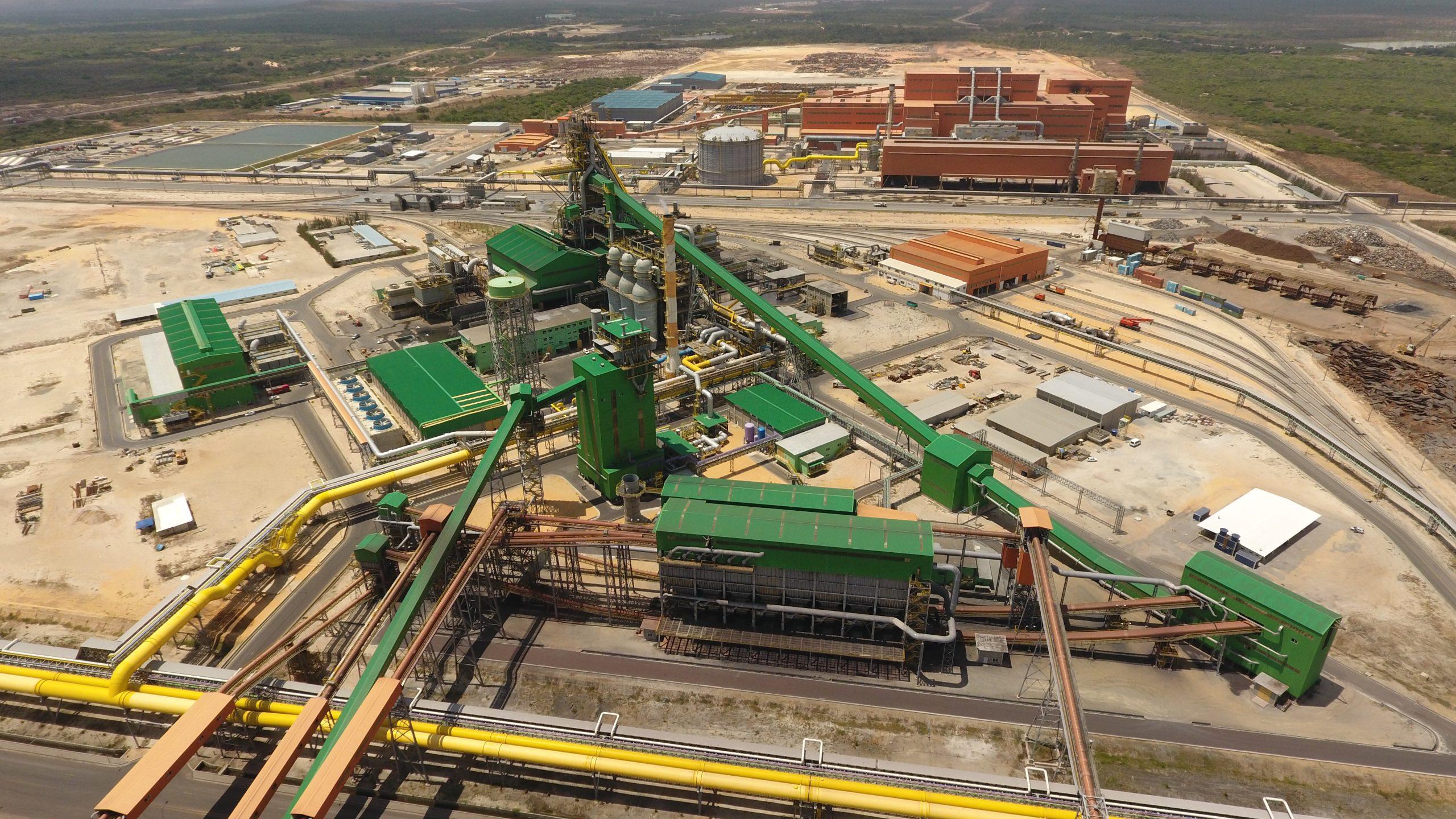 Usina da Companhia Siderúrgica do Pecém recebe certificação para a indústria de petróleo e gás natural