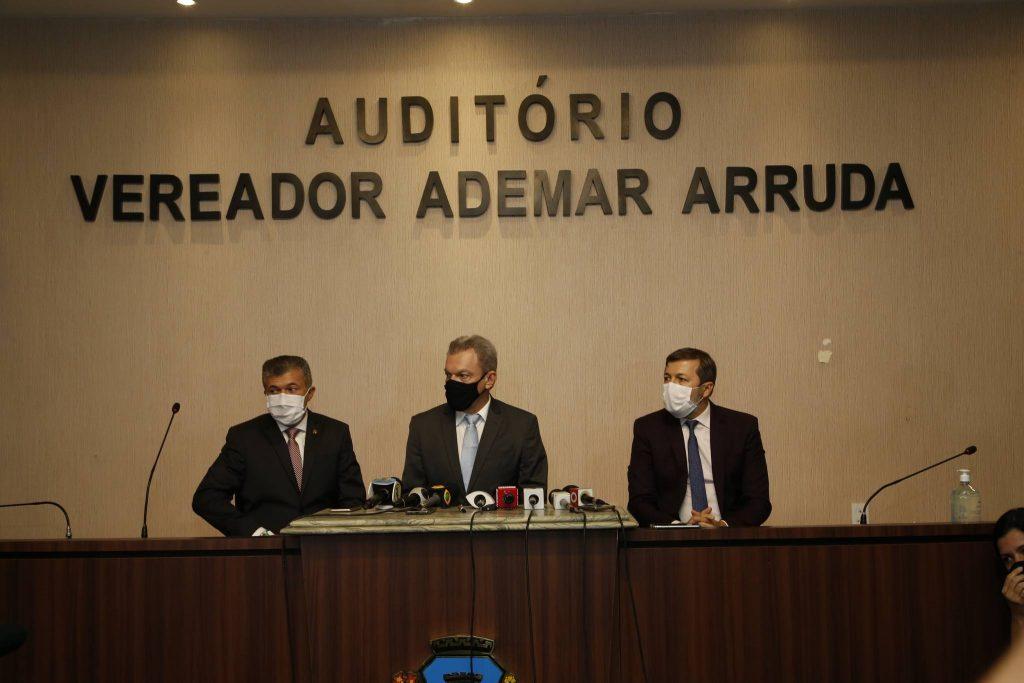 Antonio Henrique, Sarto Nogueira E Elcio Batista 2