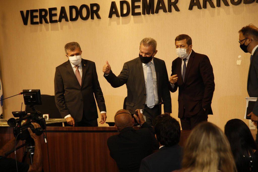 Antonio Henrique, Sarto Nogueira E Elcio Batista 4