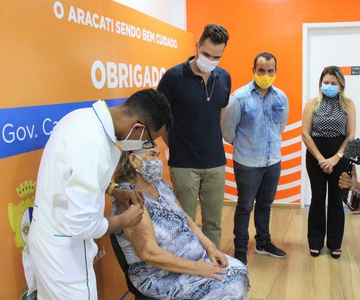 Prefeitura de Aracati acelera a vacinação após a chegada de novas doses à cidade