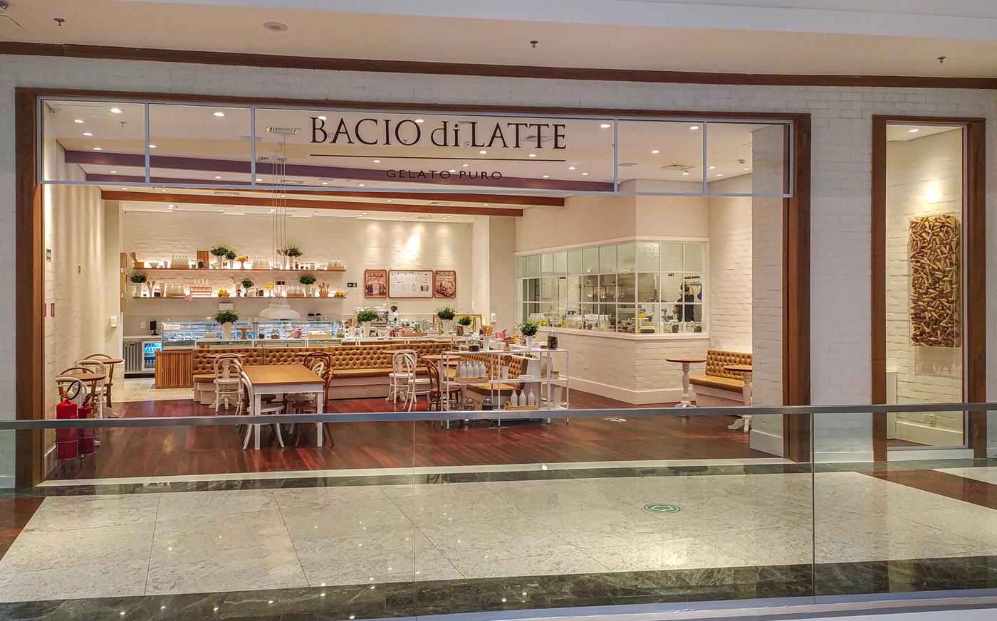 Bacio di Latte inaugura unidade no Shopping Iguatemi Fortaleza. Vem saber!