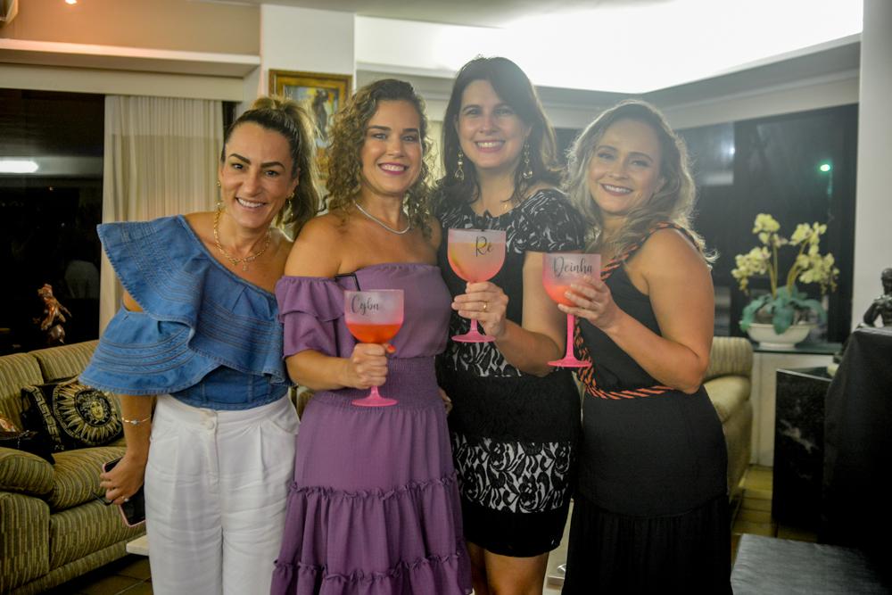 Bianca Cardoso Sales, Cybele Campos, Renata Costa E Andréa Cunha