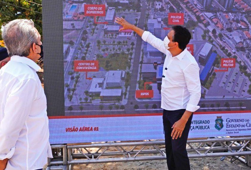 Camilo autoriza o início das obras do Centro Integrado de Segurança Pública