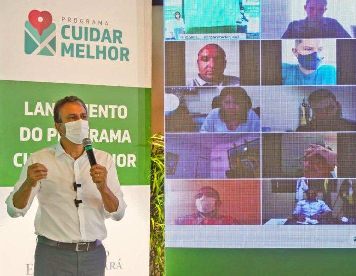 Camilo lança programa que ampliará para R$ 525 milhões distribuição de recursos do ICMS para a saúde nos municípios