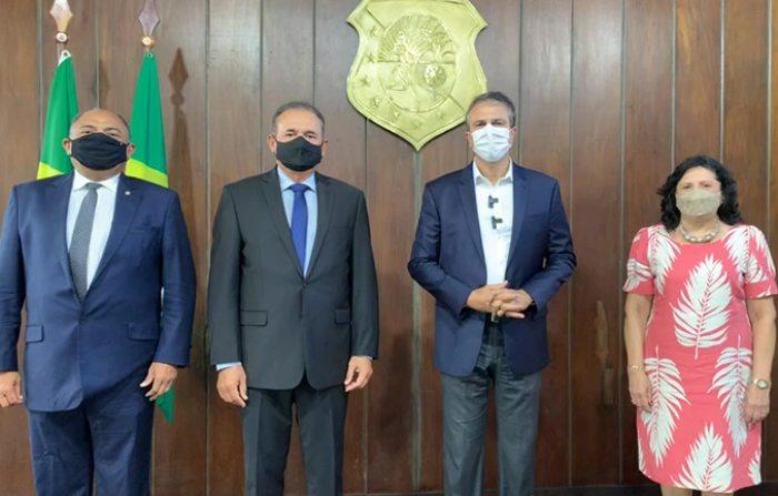 Camilo Sanciona lei que encerra projeto de modernização do Tribunal de Justiça