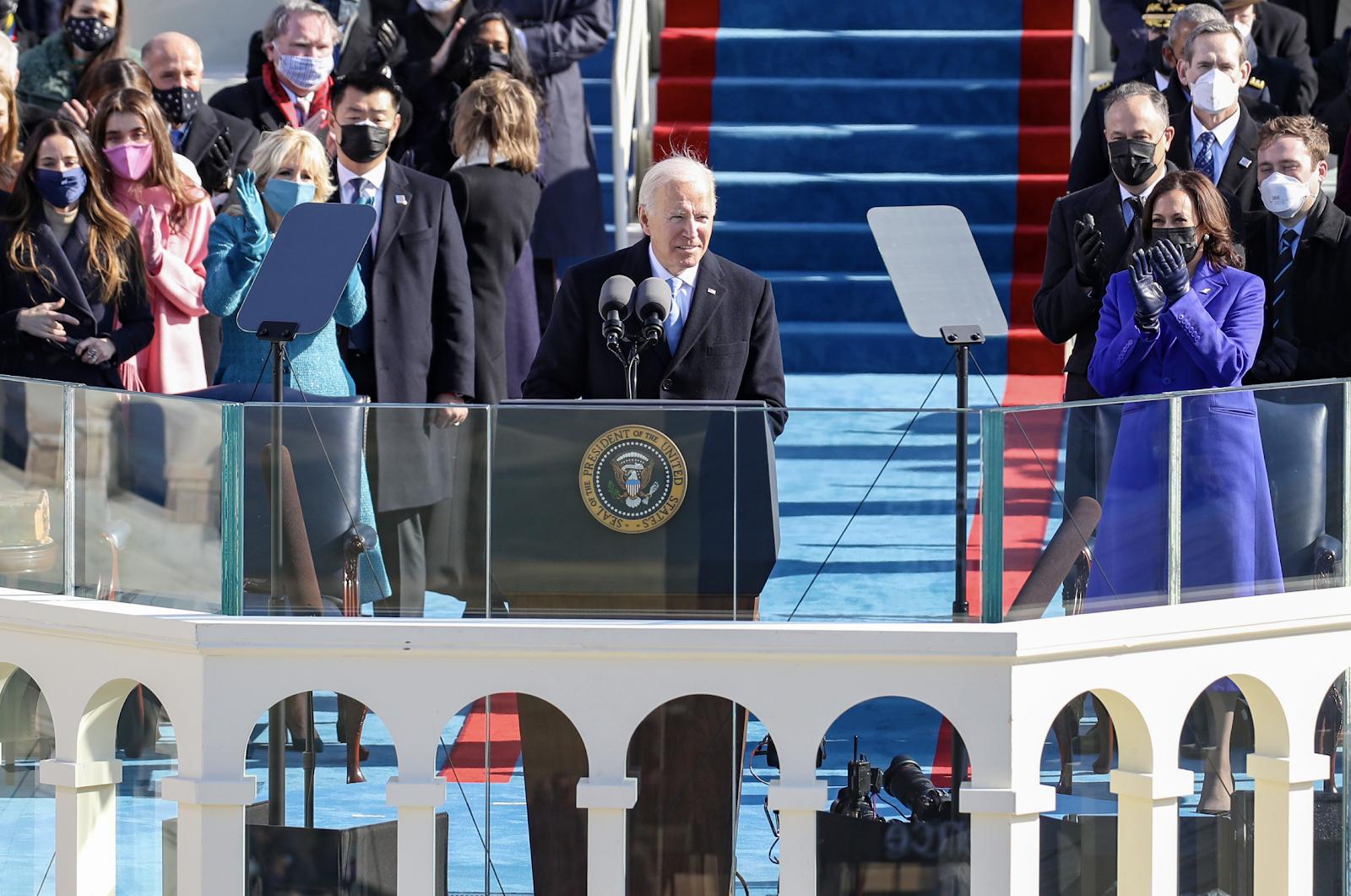 Por dentro da posse de Biden e Kamala Harris