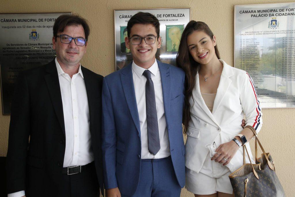 Carmelo Filho, Carmelo Neto E Isabela Casalli