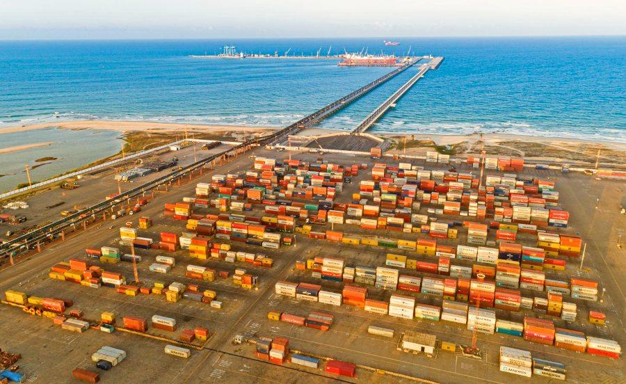Carga conteneirizada bate recorde de movimentação no Porto do Pecém