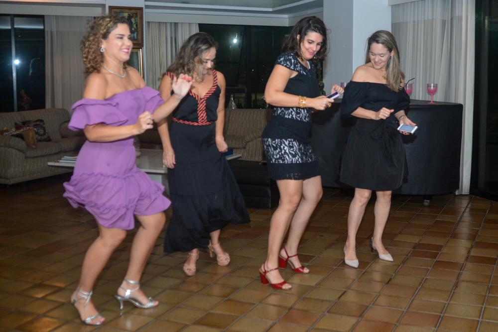 Cybele Campos, Andréa Cunha, Renata Costa E Erika Markan Lima