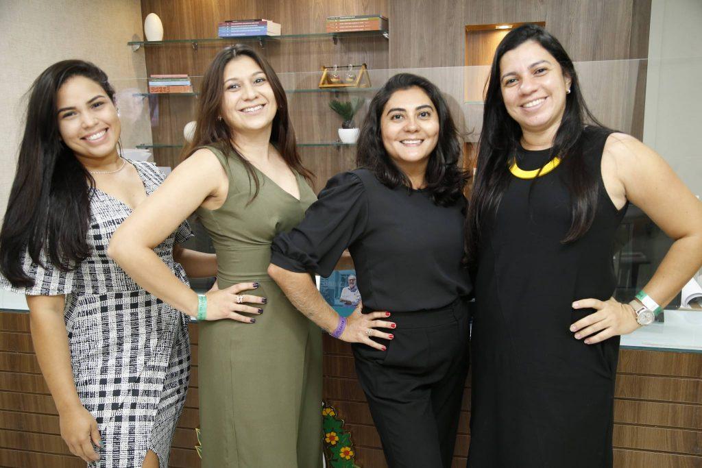 Dayane, Valdenia Barbora, Paulinha E Renata Sampaio