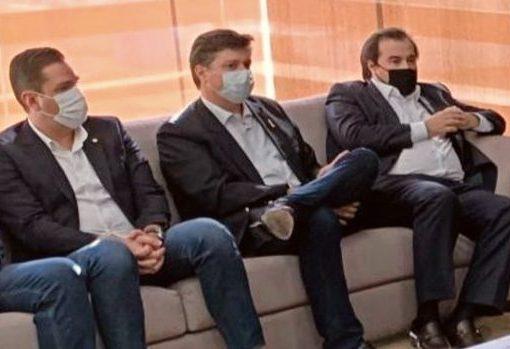 Eduardo Bismarck destaca apoio de Camilo Santana e Cid Gomes às ações de Rodrigo Maia na Câmara dos Deputados