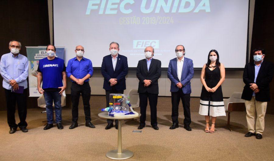 Senai Ceará lidera ações de combate ao enfrentamento à pandemia de Covid-19