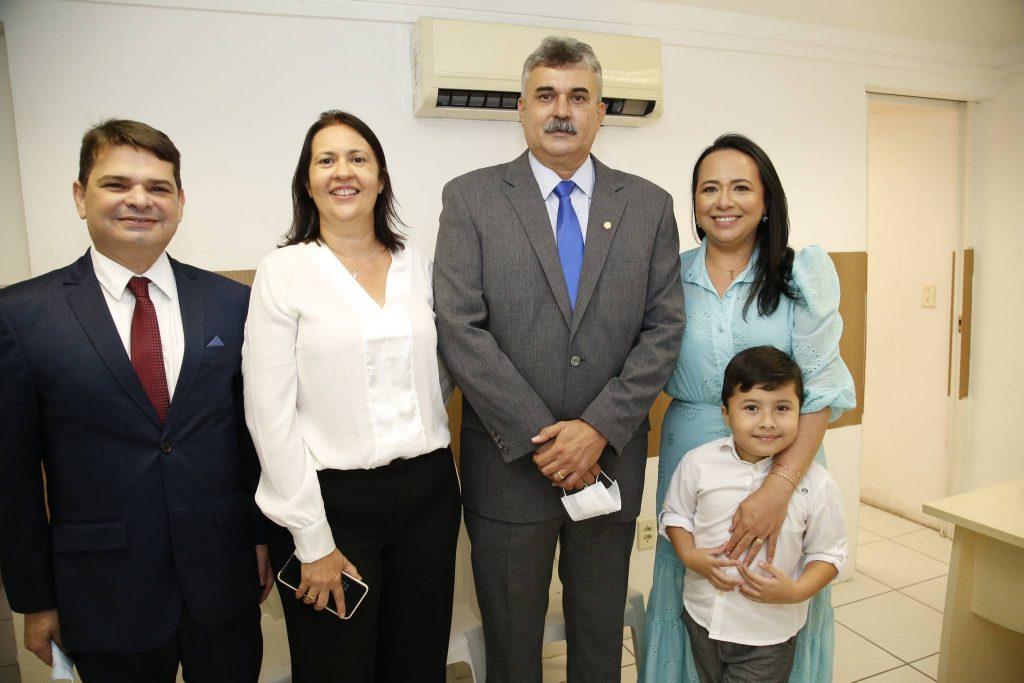 Fernando Martins, Cristiane, Eudes, Juliane E Eudes Bringel Filho