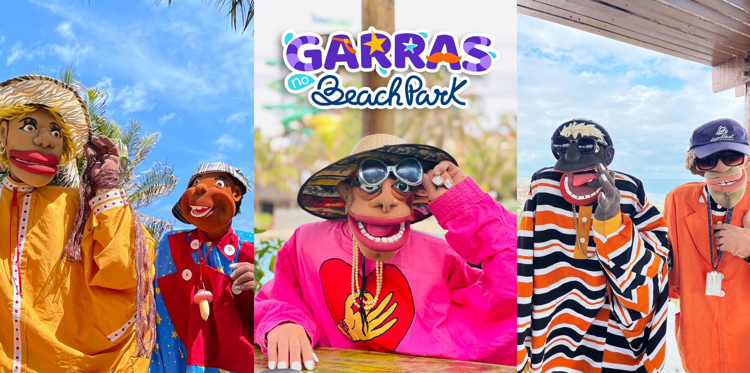 Nova campanha do Beach Park é estrelada pelos personagens Nas Garras da Patrulha