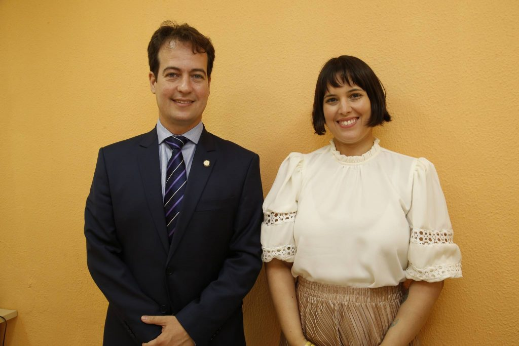 Julio Brizzi E Luana Machado