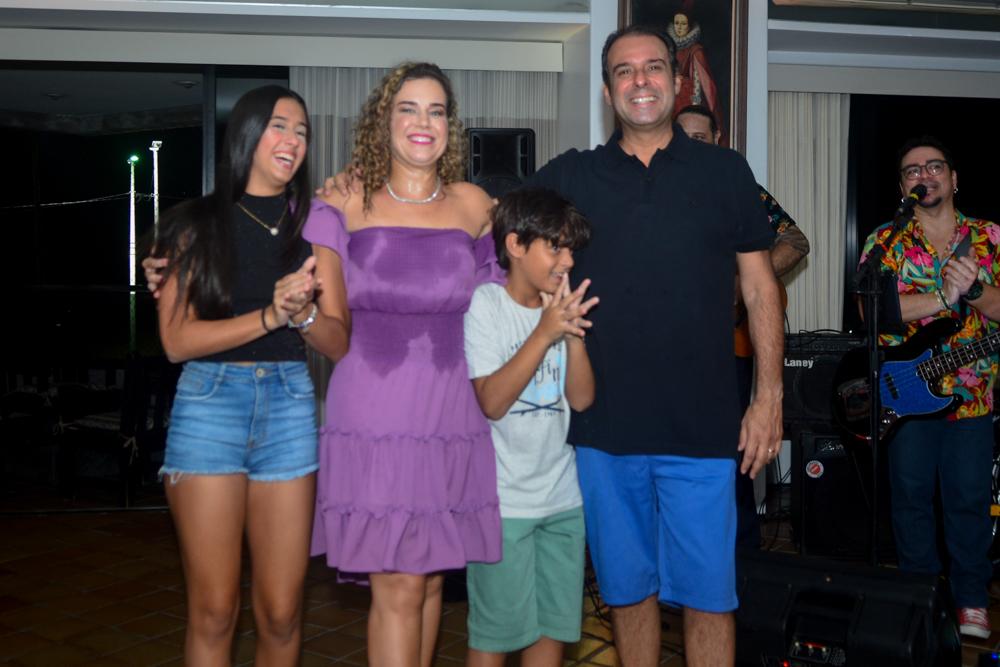 Manuela, Cybele, Fabinho E Fábio Campos