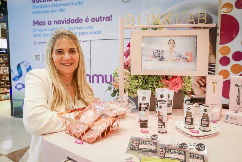 Inauguração - Lissa e Morgana Dias Branco dão o start oficial na Blink Lab no RioMar Fortaleza