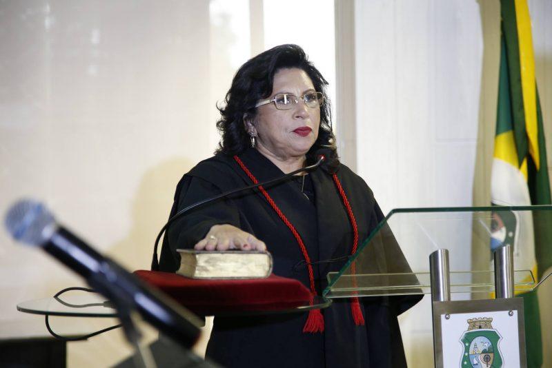 Nova Gestão - Em cerimônia virtual, Nailde Pinheiro toma posse como presidente do TJCE