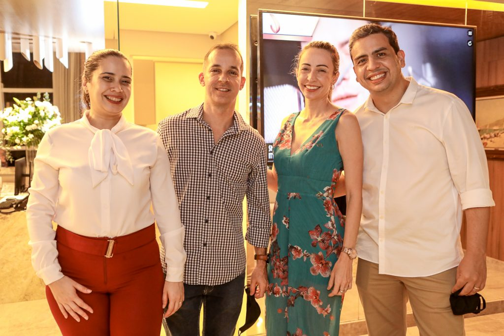 Nathalia Fontenele, Rodrigo Luna, Tayanna Braga E Rodrygo Tavares (2)