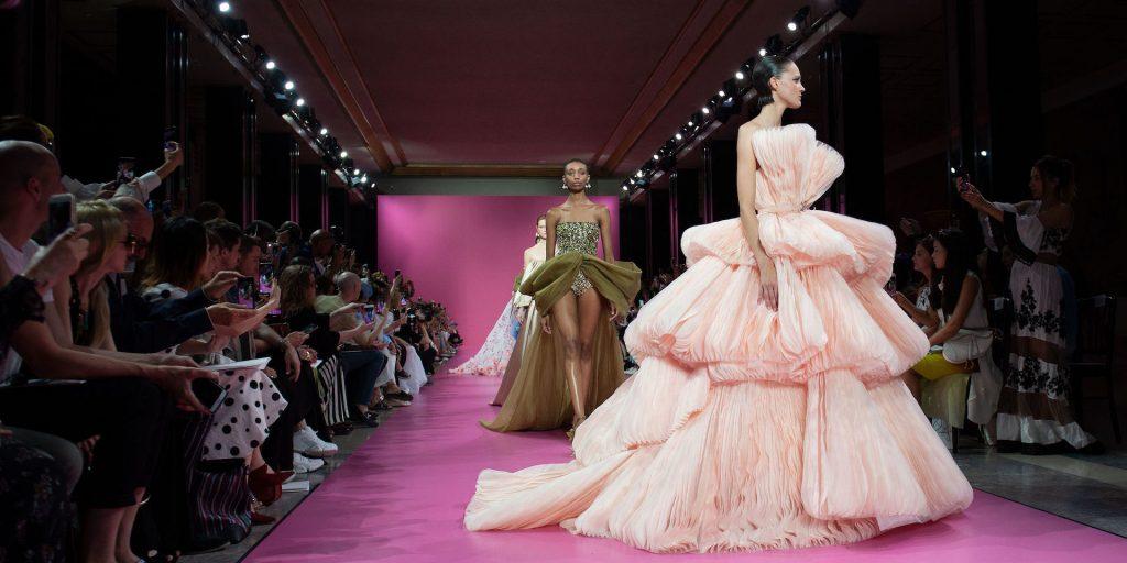 Georges Hobeika Runway Paris Fashion Week Haute Couture F/w 2019/2020, France 01 Jul 2019