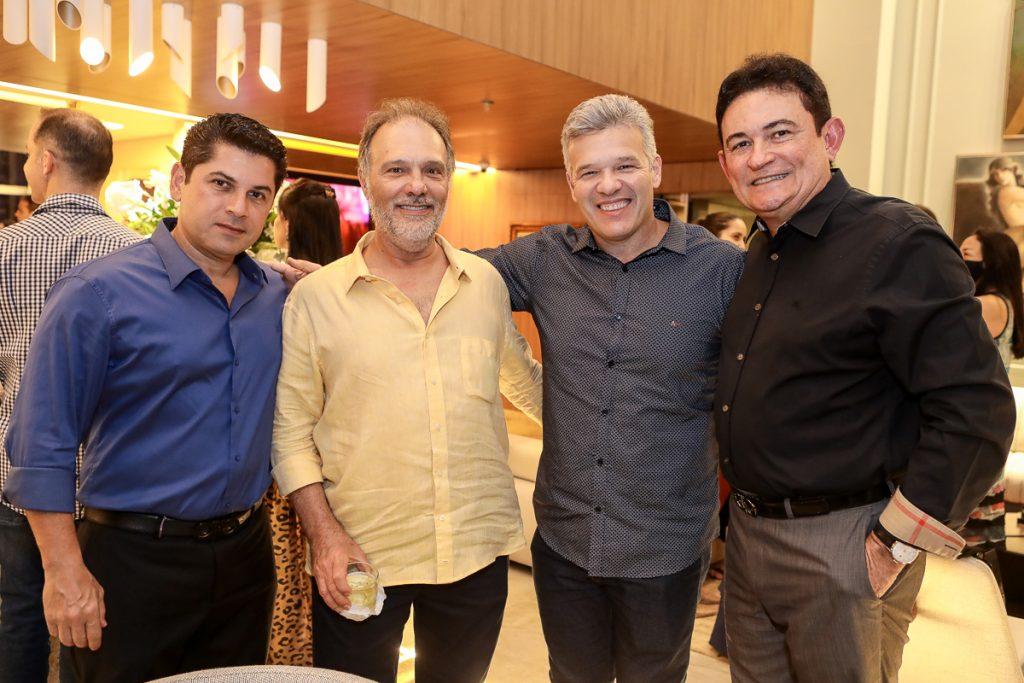 Pompeu Vasconcelos, Jose Carlos Pontes, Ferruccio Feitosa E Fernando Santana (2)