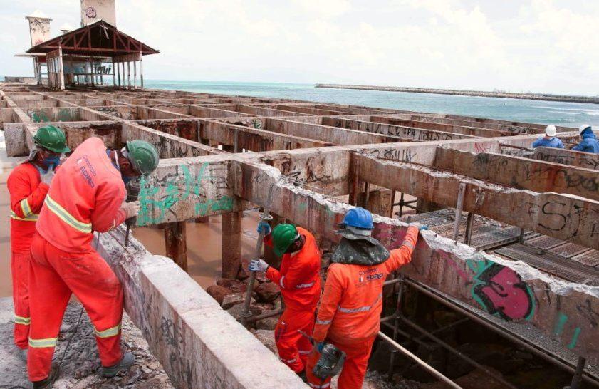 Prefeitura de Fortaleza dá início às obras de recuperação da Ponte dos Ingleses