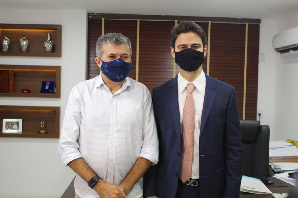 Presidente Da Câmara Antônio Henrique E Vereador Pedro Matos