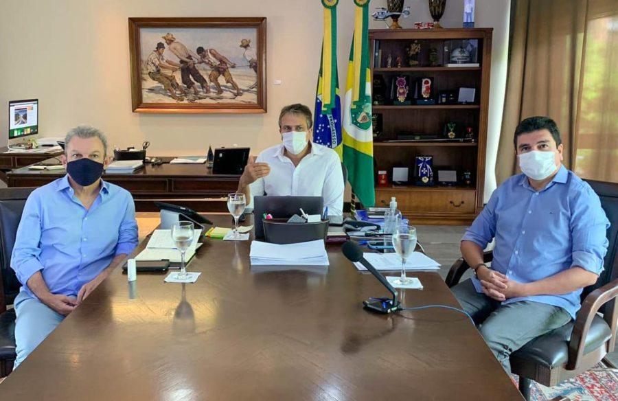 Camilo e Sarto discutem ações para coibir o descumprimento de medidas restritivas