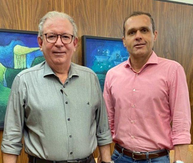 Ricardo Cavalcante e Eduardo Diogo traçam estratégias de fortalecimento empresarial regional e de qualificação
