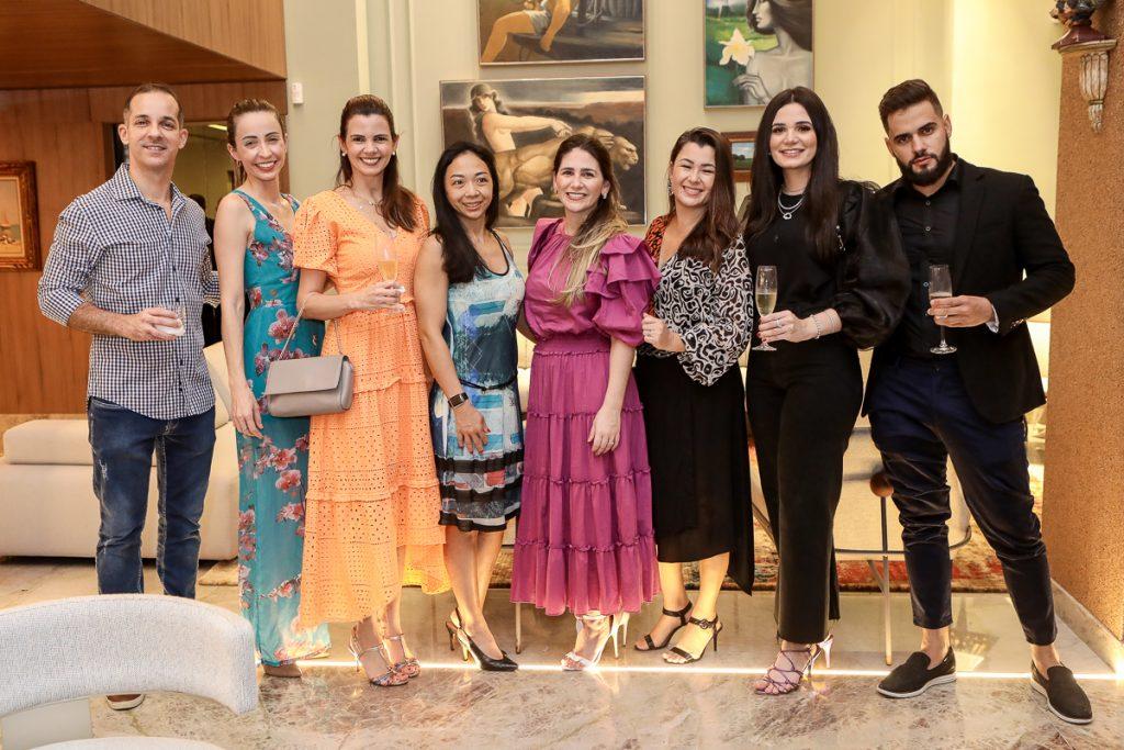 Rodrigo Luna, Tayanna Braga, Carol Studart, Celia Kawano, Natalia Da Escossia, Lauren Oyama, Ruth Estite E Rafael Moreira