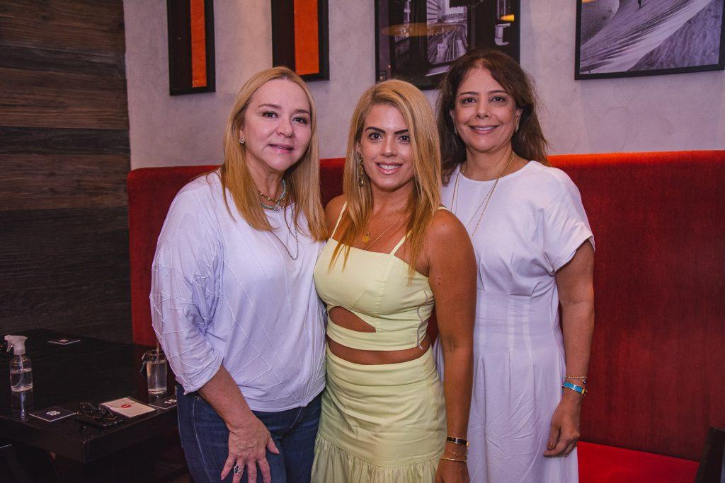 Sandra Fujita, Leticia Studart E Claudia Gradvohl