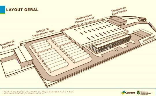 Marquise dá um passo importante para a construção da usina de dessalinização