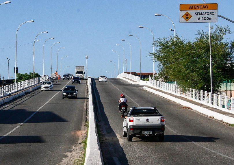 Prefeitura de Fortaleza realiza obras de manutenção preventiva em viadutos, túneis e porntes da capital cearense