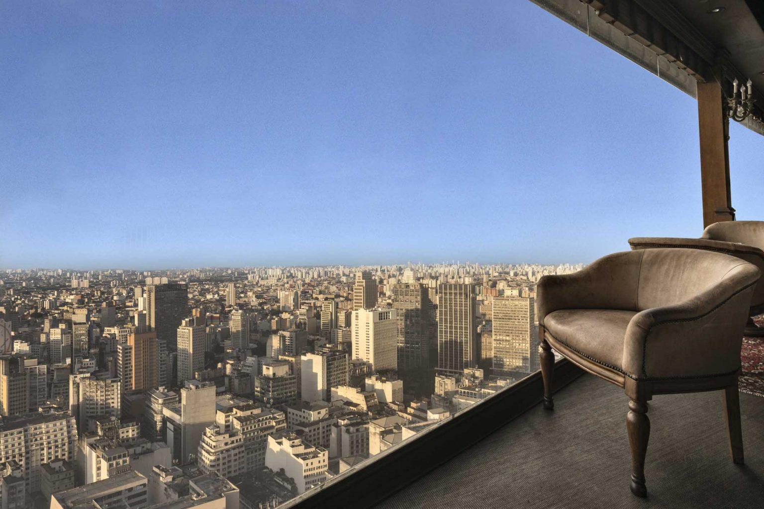Um rooftop para ver São Paulo a 165 metros de altura