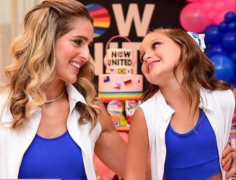 Rebeca Leal e Bruno Bastos celebram a nova idade de Athina