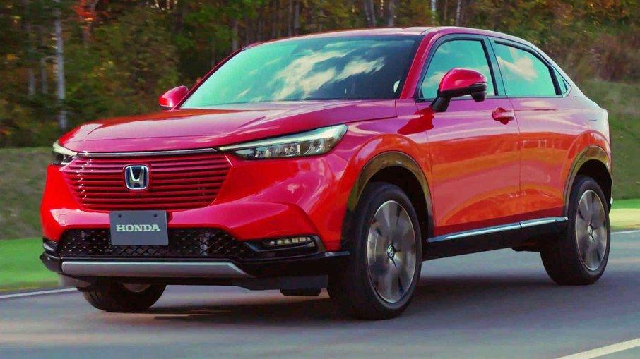 Com mudanças ousadas, Honda revela o Novo HR-V no Japão